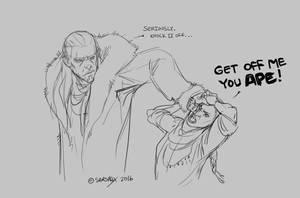 You APE [45 min sketch com] by Sarspax