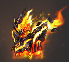 Kamen Rider Cross Z Magma FanArt by TrongLeHoang