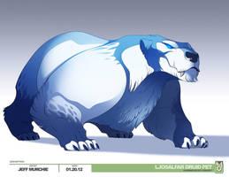 Artic Bear Concept Jeff Murchie by MURCHIEMONSTER