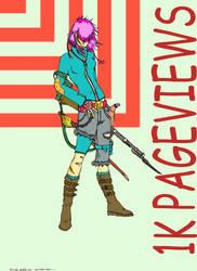 1K improvisado yuri color by Animelengo