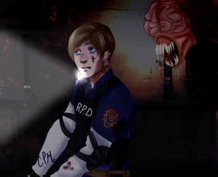Resident Evil 2 by IntestineBowties