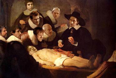Anatomy Class With Guy by GreyMills