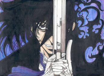 Alucard from Hellsing by Roxychamy