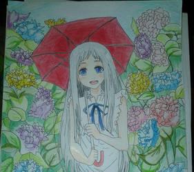 Flower girl :3 by Roxychamy