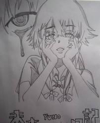 Yuno Mikai Nikki by Roxychamy