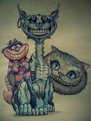 Cheshire Cat by Roxychamy