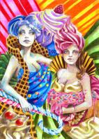 Cupcake Sisters by winona-adamon