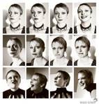 Sweet expressive Justine by winona-adamon