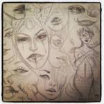 Ghoulish girls by winona-adamon