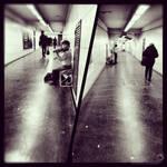 Couloir de metro et classical music by winona-adamon