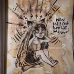 Rha. Can I sleep ? by winona-adamon