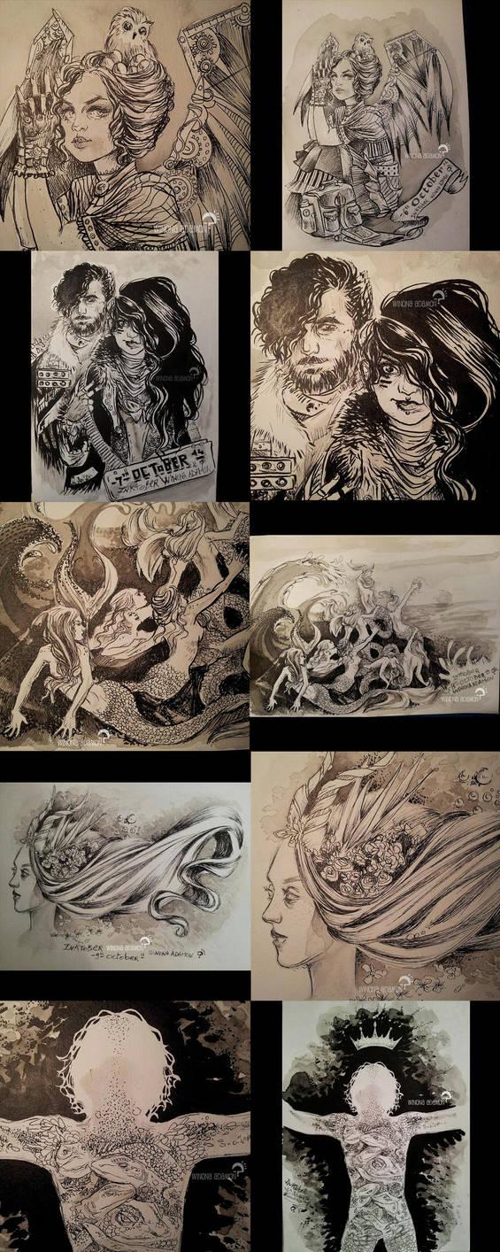 INKtober 2014 06-10 by winona-adamon
