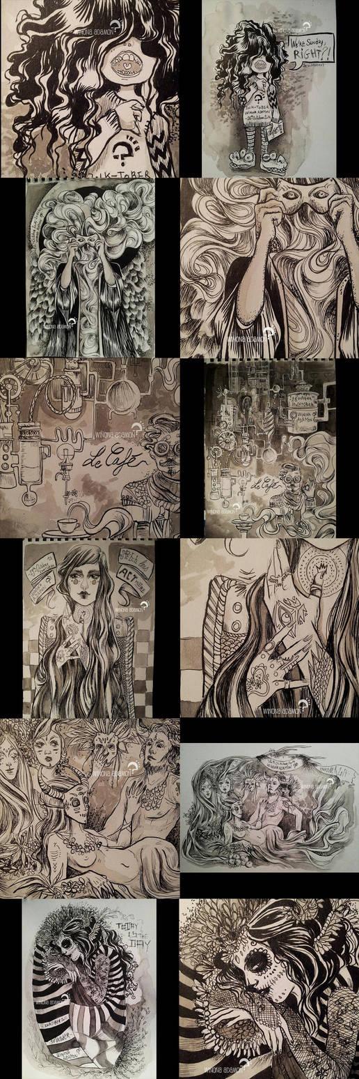 INKtober 2014 26-31 by winona-adamon