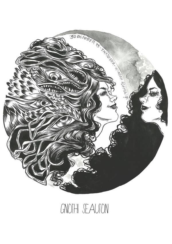 Gnothi seauton by winona-adamon