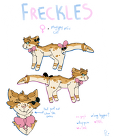FRECKLES REF 2017 by sonianeverminding