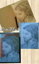 'Elijah Mikaelson' (Daniel Gillies) by nattiemnd