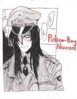 Police Boy Alucard by AngelKiller666