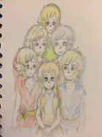 Family Portait by KuroXan