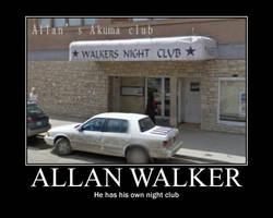 Allen Walker's club by AoiKita