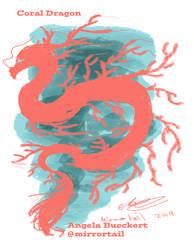 Coral Dragon by AoiKita