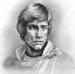 Luke Skywalker - ROTJ by enednoviel