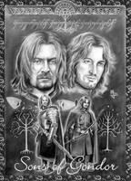 Sons of Gondor by enednoviel