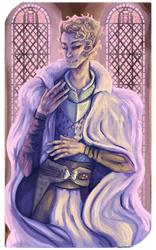 Dragon Age Tarot Card: Love and Pride 1 by B-UBI