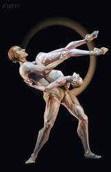 Sarah Lamb and Steven Mcrae by B-UBI
