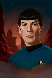 Mr. Spock by RileyStark