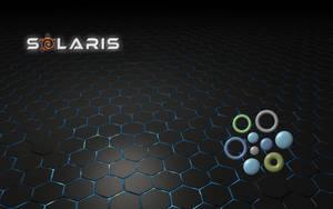 Solaris Black wallpaper by WalentyWalewski