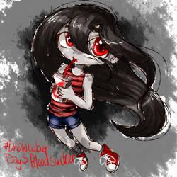 #drawtober day 5 - Bloodsucker by Ch4rm3d