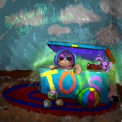 #drawtober day 11 - Haunted toy box by Ch4rm3d