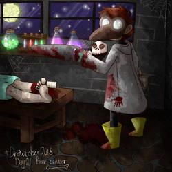 #drawtober day 21 - Bone cutter by Ch4rm3d
