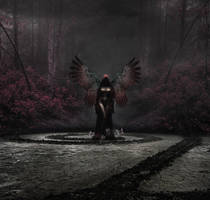 The Red Angel by owel