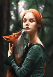 Fox by PaulinaKlime