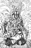 Hellboy Pencils by Whispering-Road