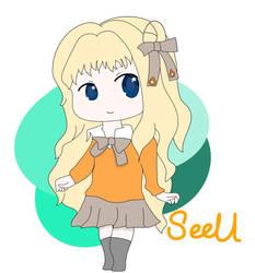 SeeU Chibi by Mei-Haruka