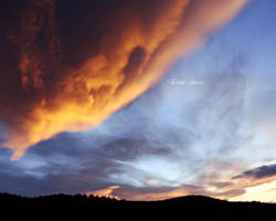 burning clouds by kicsianna