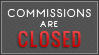 Closed Comms (Red) by MissMalefic-Stock