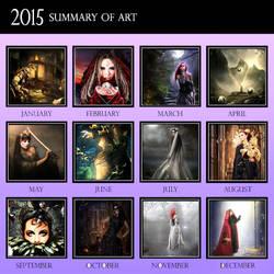 2015 Summary Of Art by aninur