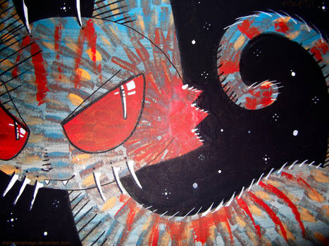 space explosion candy tabby by wimpod