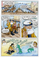 The Mermaid -page 1- by xanykaos