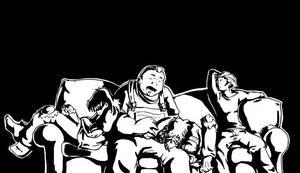 Nap Time for the Brotherhood by xanykaos