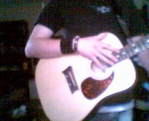 My guitar I by oxXPoGoXxo
