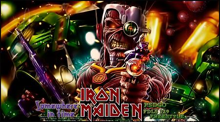 Iron maiden Eddie cyborg by Sergiomol