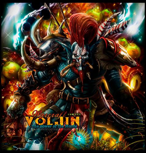 Voljin The Power Of The Horde By Sergiomol On Deviantart