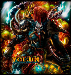Voljin the power of the horde by Sergiomol