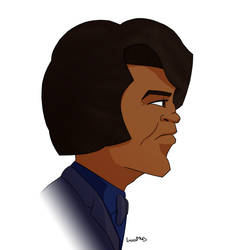 James Brown by Luned13