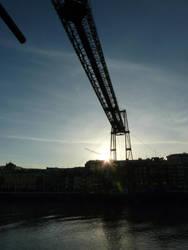 Puente Bizkaia by Eaglerock