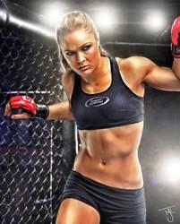 Rowdy-Ronda-Rousey by tab109